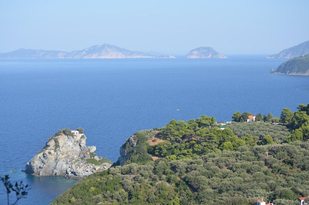 Famous Movie Location Church of Agios Ioannis Kastri in Slopelos, Greece