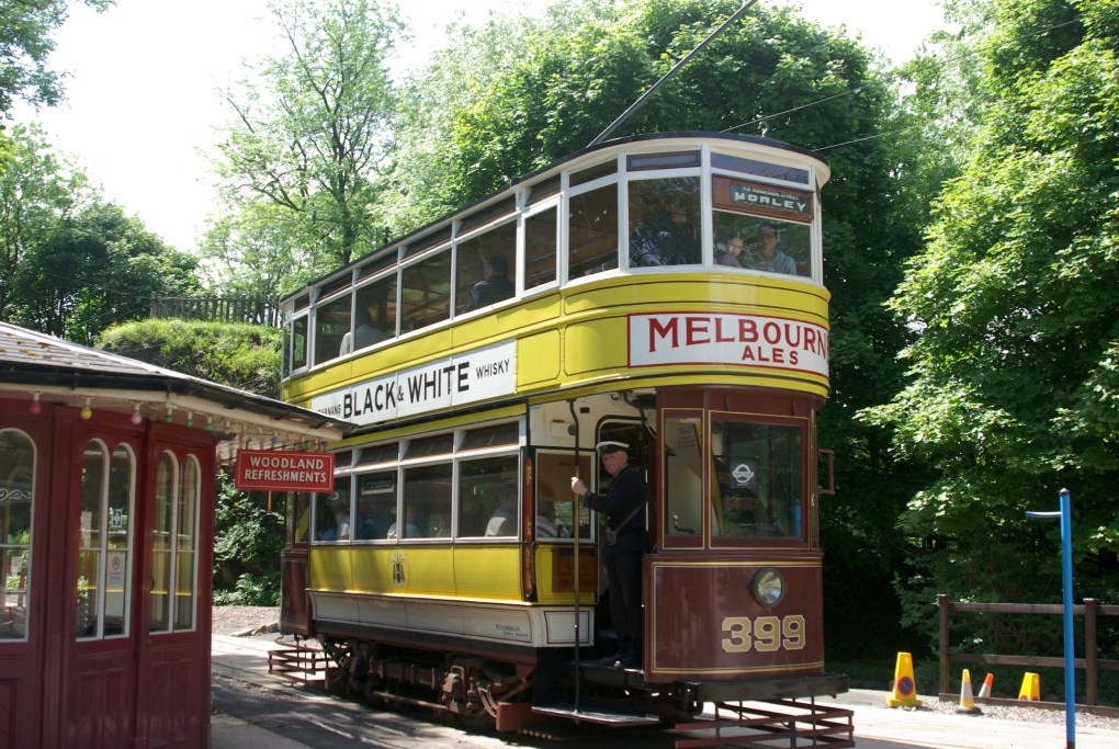 Crich Tramway Village in Matlock, England is a Sightseers Film Location