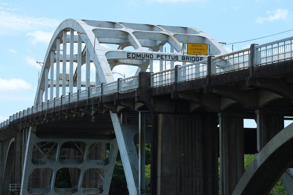 Famous Movie Location Edmund Pettus Bridge in Alabama, USA