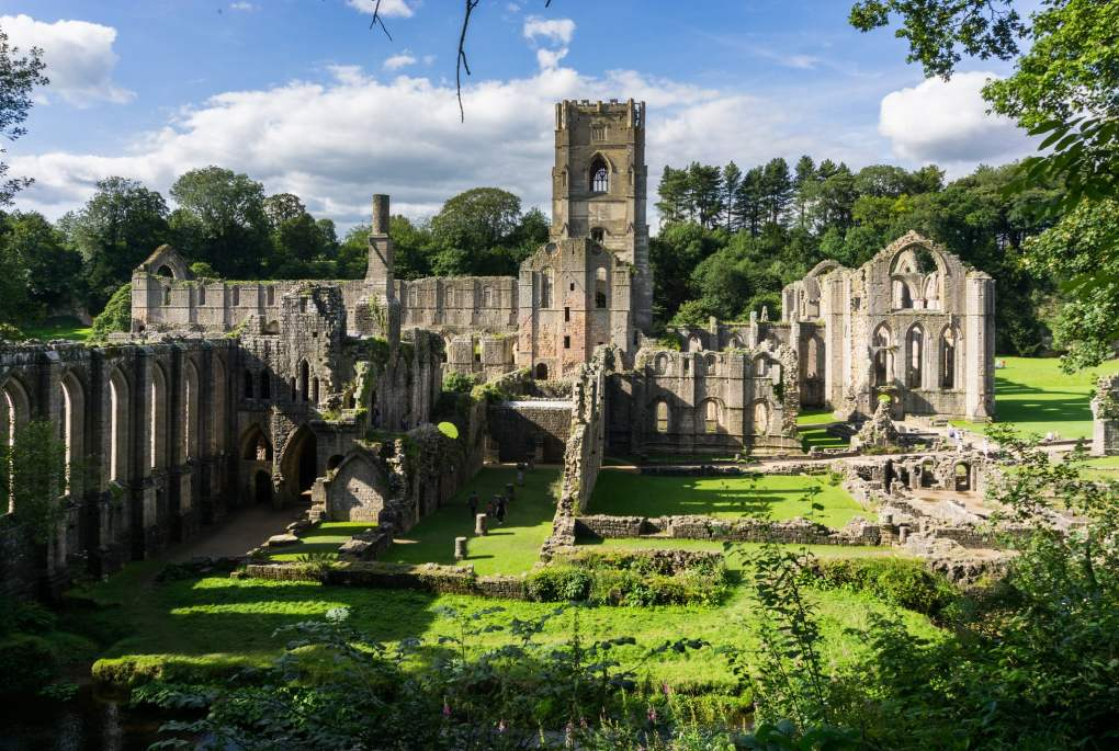 Fountains Abbey in Ripon, England is a Sightseers Film Location