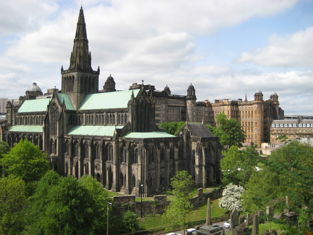 Glasgow Cathedral in Glasgow, Scotland Outlaw King Filming Location