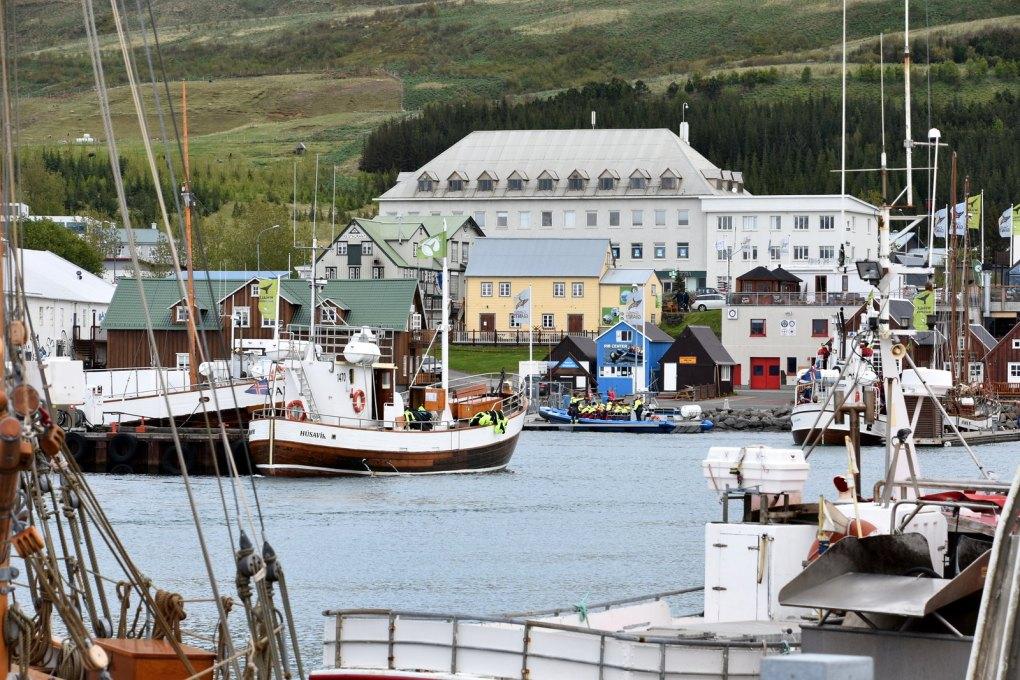Húsavík Port, Iceland Eurovision Song Contest: The Story of Fire Saga Filming Location