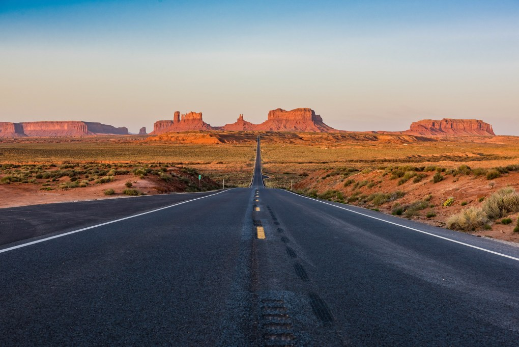 Famous Location Monument Valley
