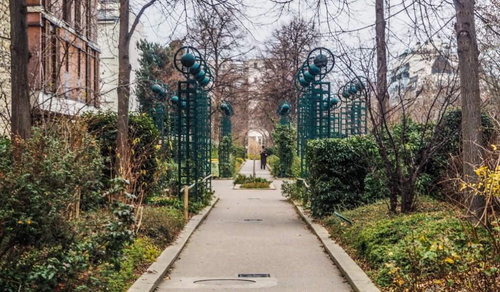 Famous Movie Location Promenade Plantée in Paris, France