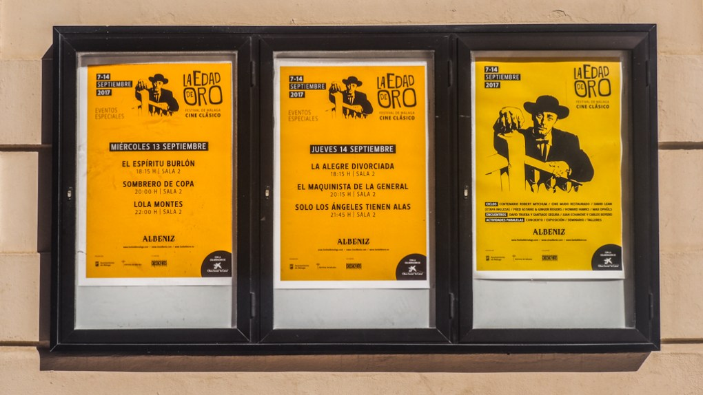 Málaga Film Festival 2017 Posters