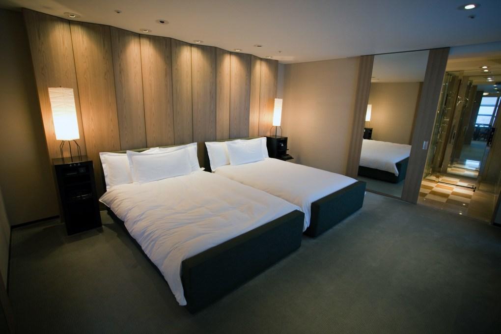Famous Film Location Park Hyatt Hotel in Tokyo, Japan