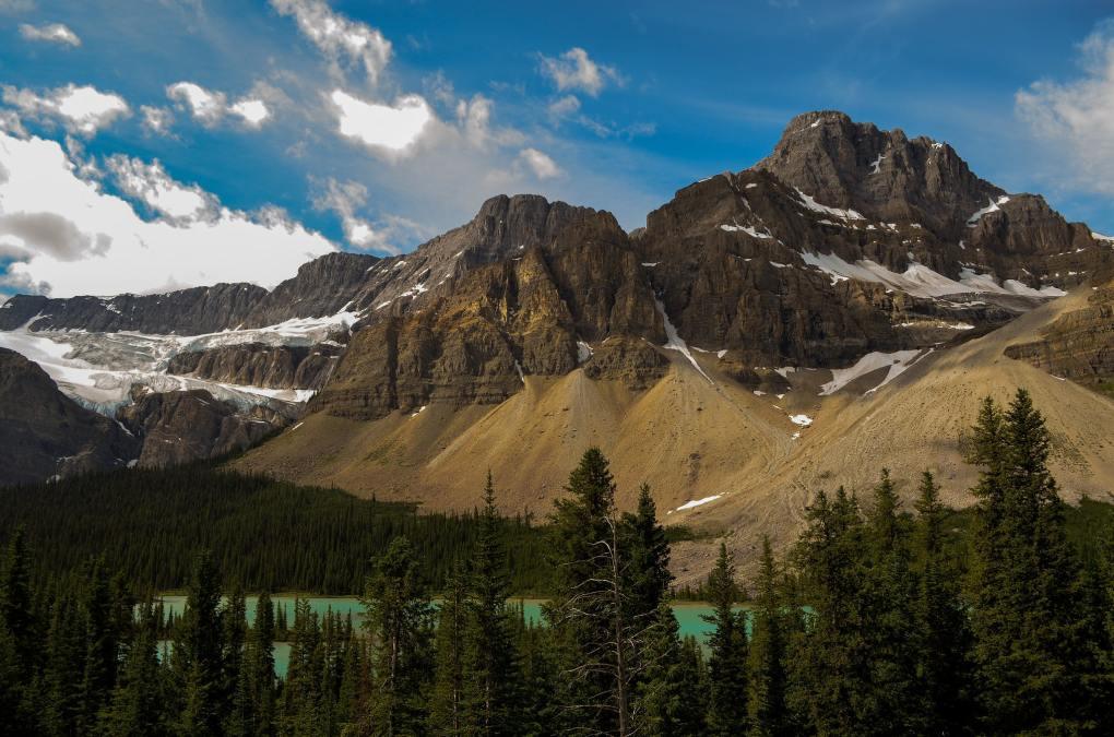 Famous Movie Location Prairie Mountain in Alberta, Canada