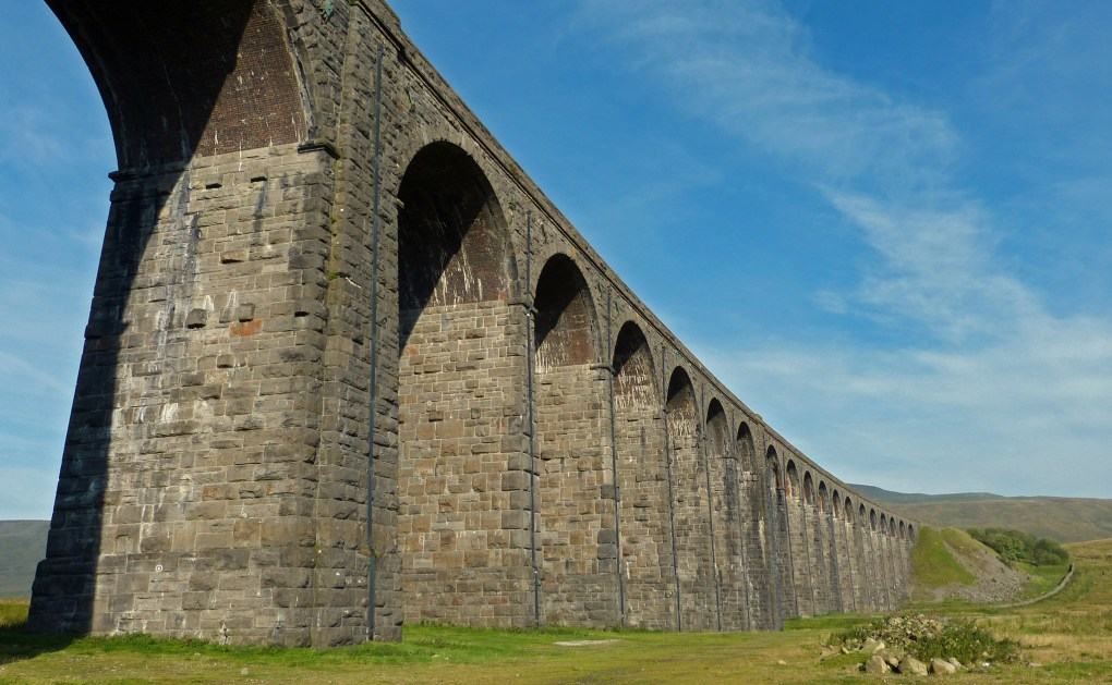 Ribblehead Viaduct in Carnforth, England Sightseers Film Location