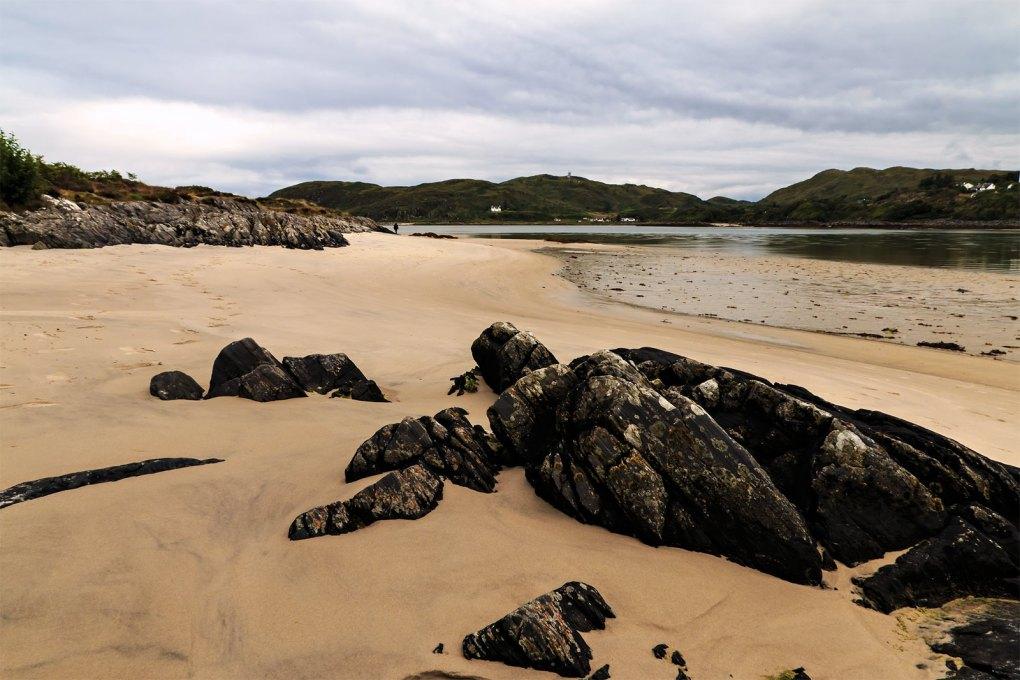 Silver Sands of Morar in Mallaig, Scotland Highlander Filming Location