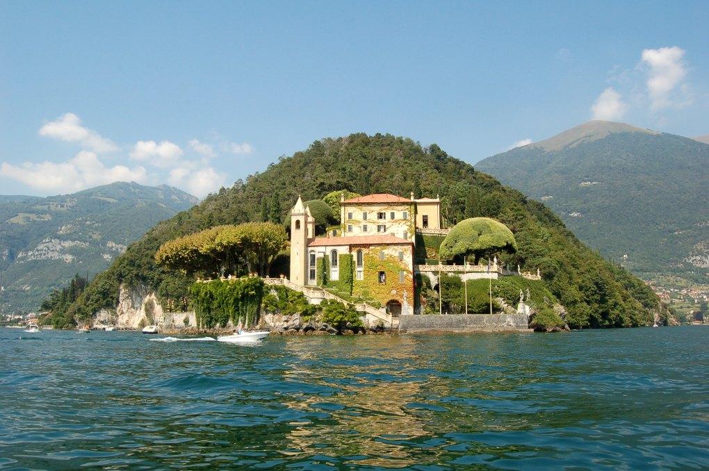 Villa Del Balbianello in Italy