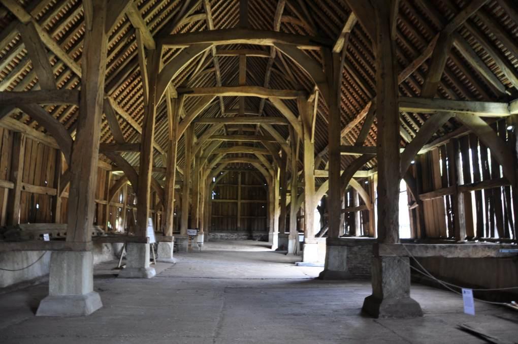Harmondsworth Barn in Middlesex, England