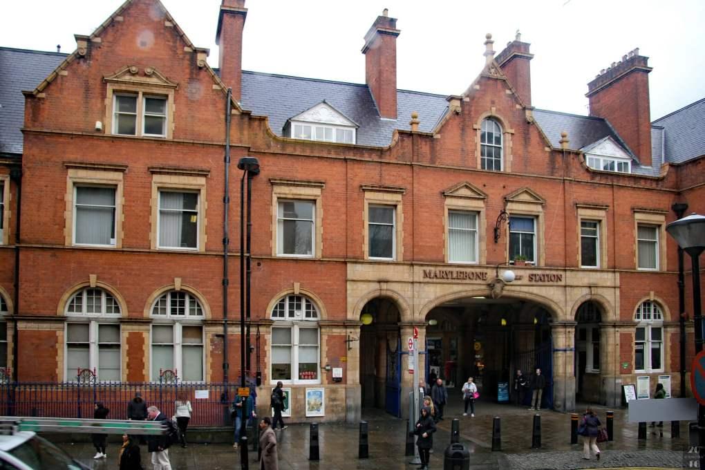 Marylebone Station in London, England