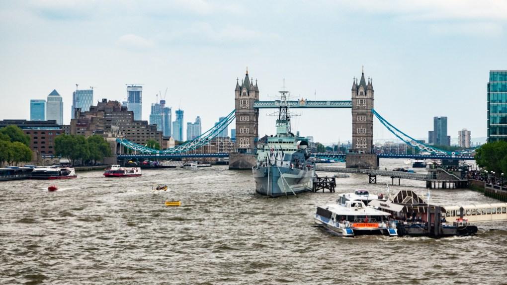 Tower Bridge in London, England Paddington Filming Location