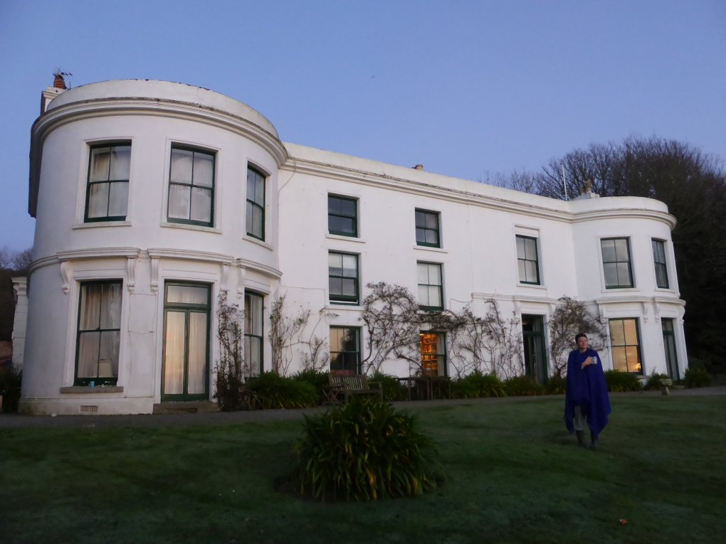 Porthpean House in St Austell, Cornwall in England About Time Filming Location