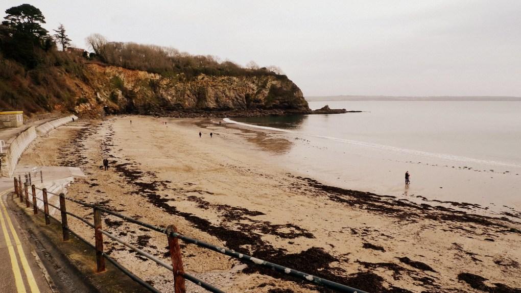 Vault Beach in Cornwall, England