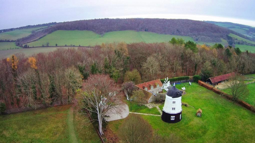 Cobstone Windmill in Turville, Buckinghamshire in England Chitty Chitty Bang Bang Location