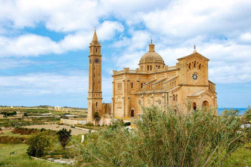 Gharb Church in Gozo, Malta