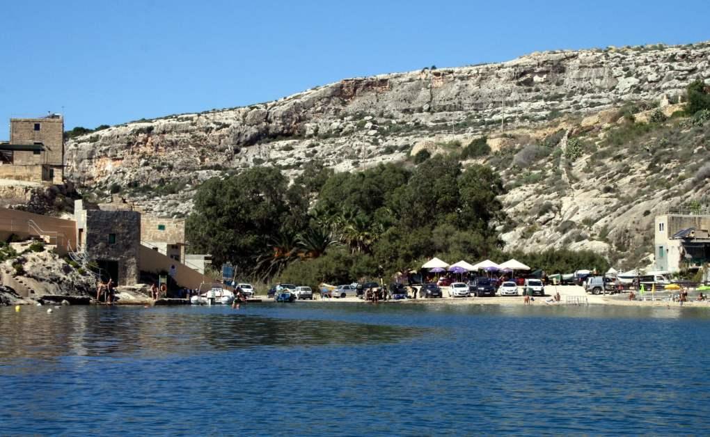 Mgarr-Ix-Xini Bay in Gozo, Malta By the Sea Movie Location