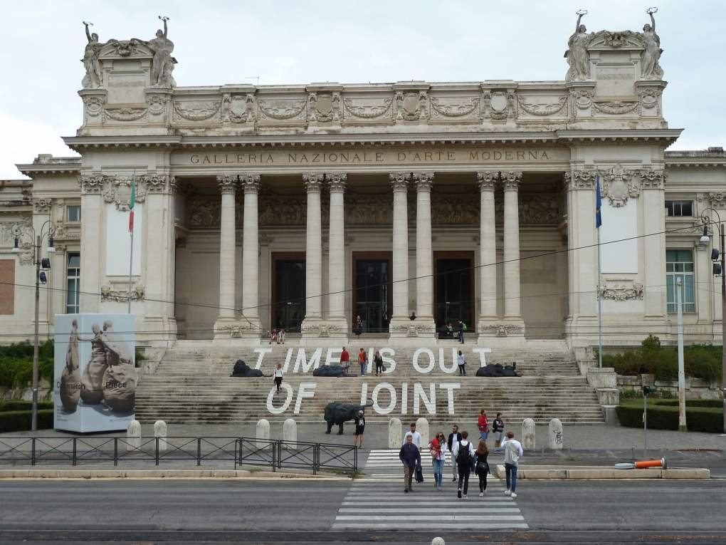 National Gallery of Modern and Contemporary Art in Rome, Italy