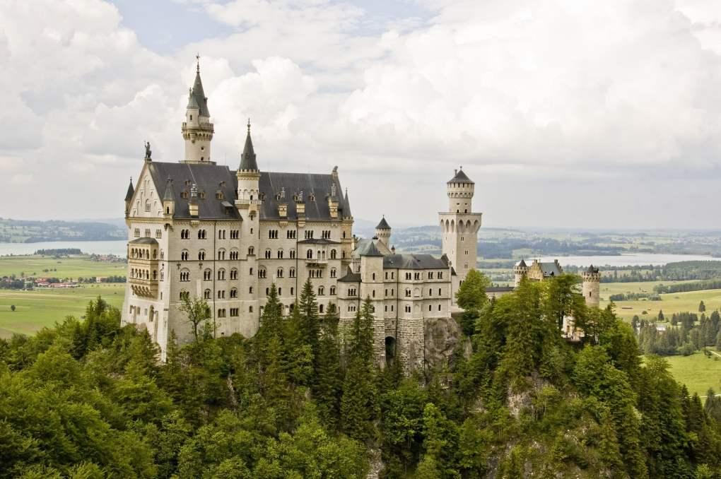 Neuschwanstein Castle in Bavaria, Germany Chitty Chitty Bang Bang Location