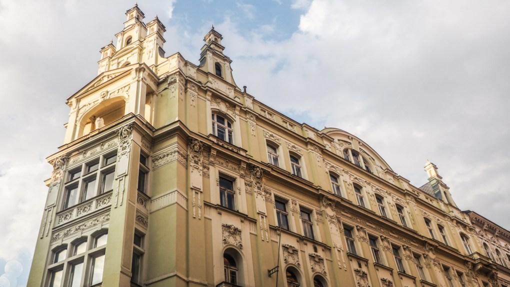 Building in Prague