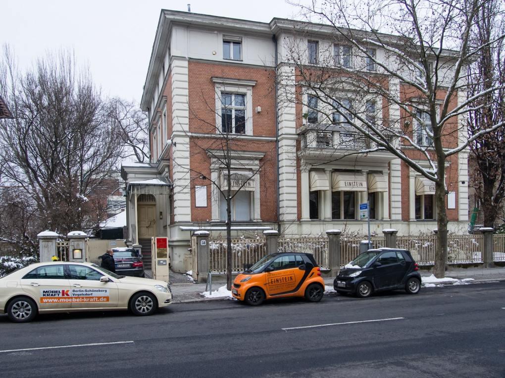 Cafe Einstein Stammhaus in Berlin, Germany Inglourious Basterds Filming Location
