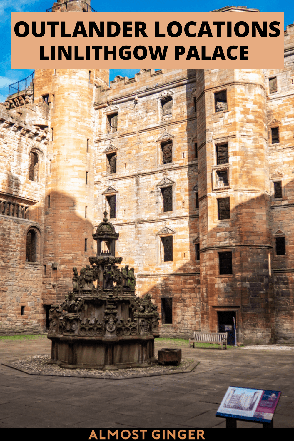 Linlithgow Palace Outlander Location: A Complete Wentworth Prison Guide | almostginger.com