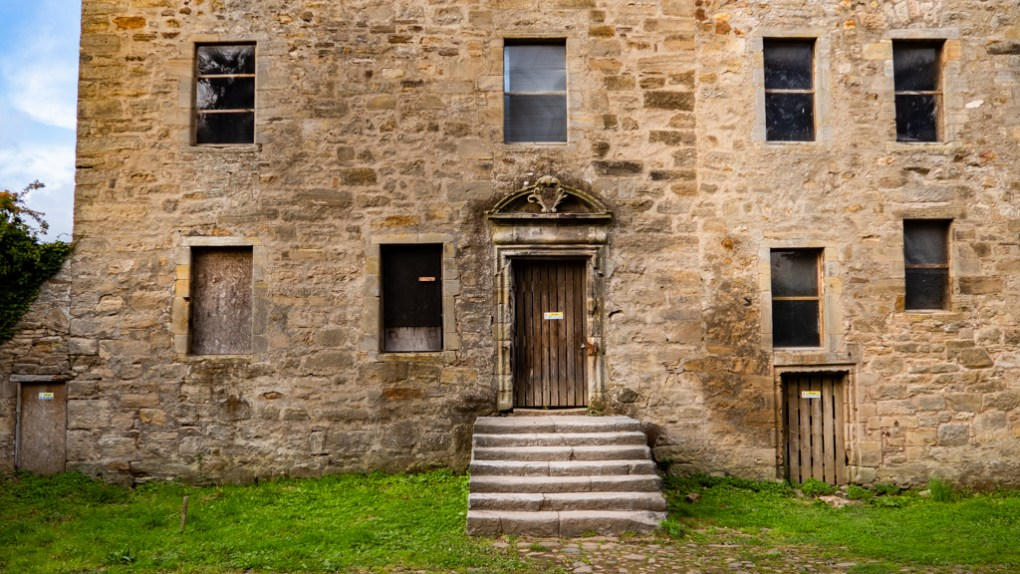 Midhope Castle in South Queensferry, Scotland
