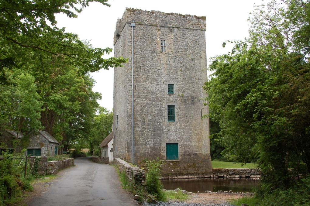 Thoor Ballylee Yeats Tower in County Galway, Ireland The Quiet Man Filming Location