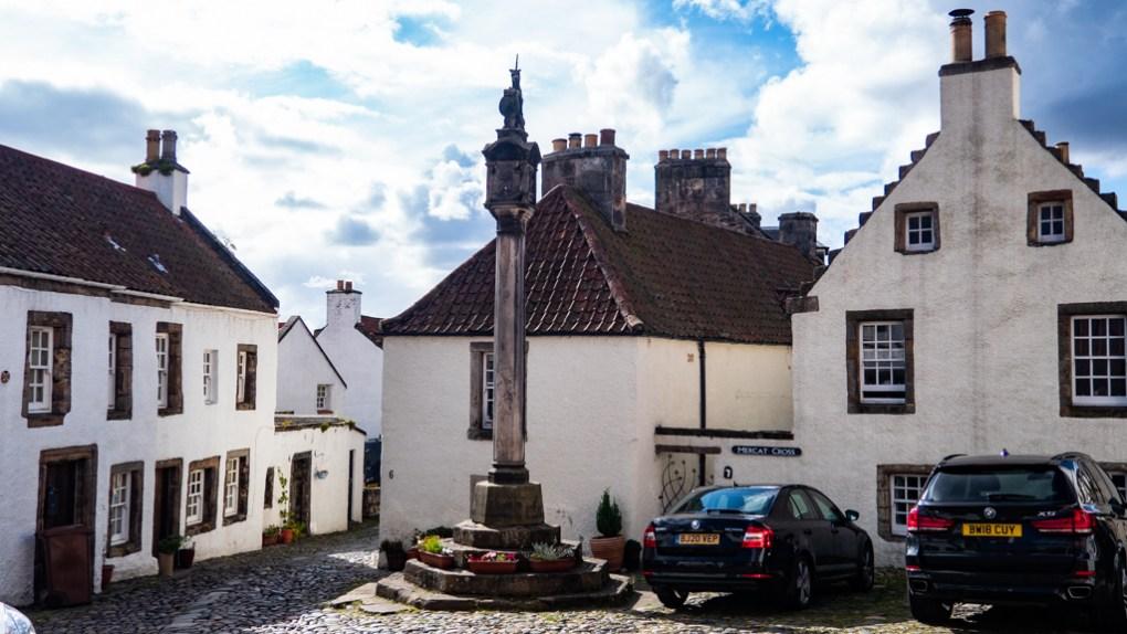 Mercat Cross in Culross, Scotland