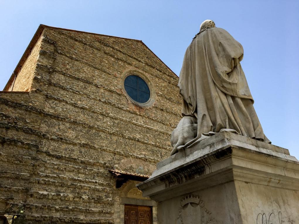 Basilica di San Francesco in Arezzo, Italy The English Patient Film Location