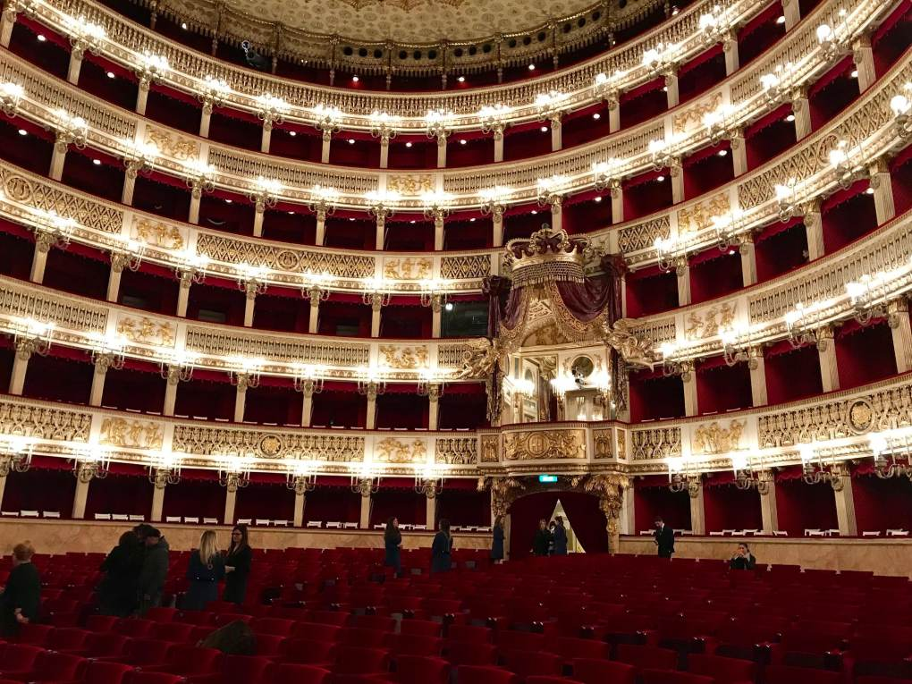 San Carlo Theatre in Naples, Italy