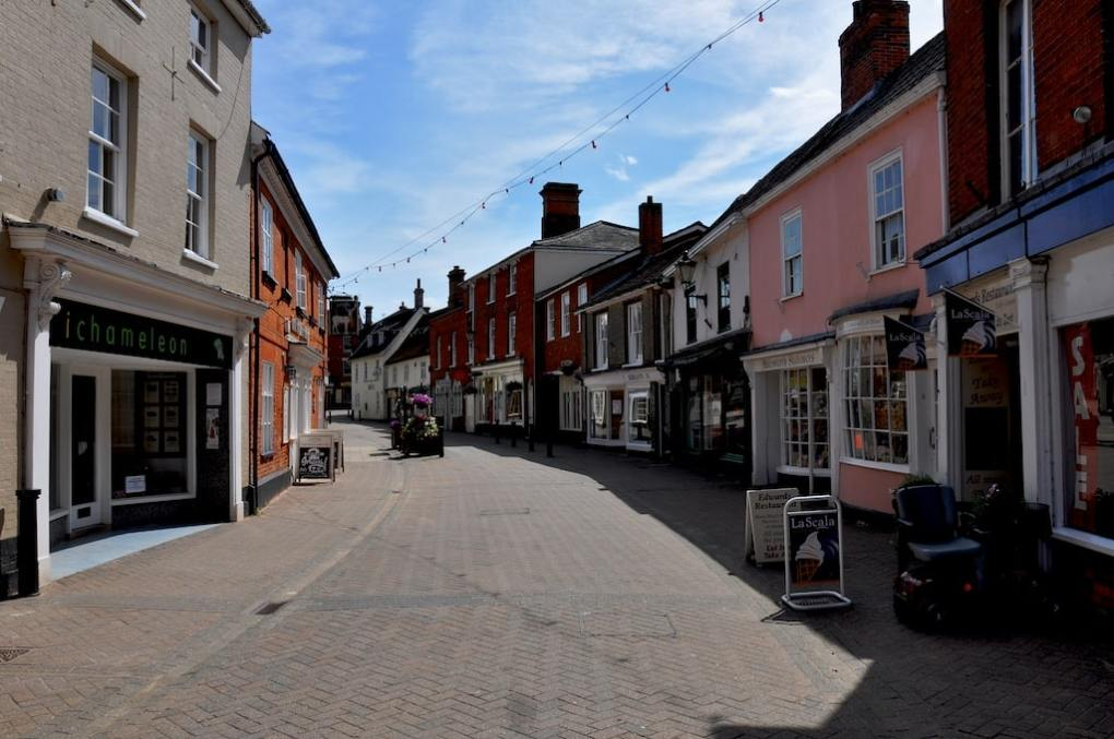 Halesworth in Suffolk, England Yesterday Film Location