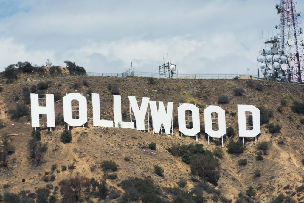 Hollywood Sign in Los Angeles, USA