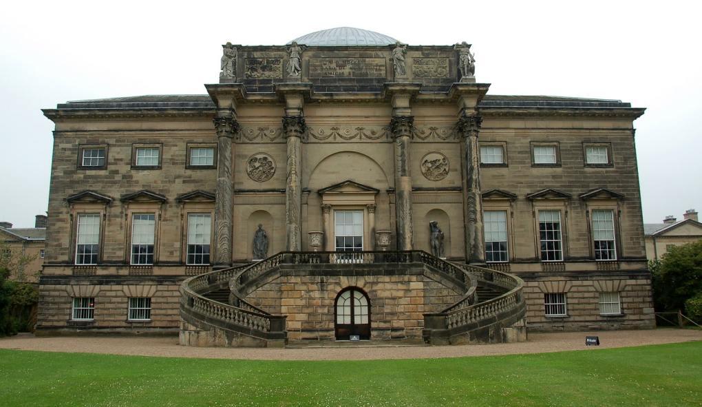 Kedleston Hall in Derbyshire, England The Duchess Filming Location