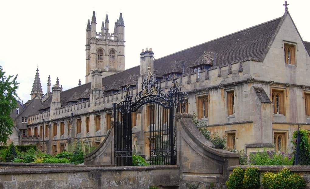 Magdalen College in Oxford, England Brideshead Revisited Film Location