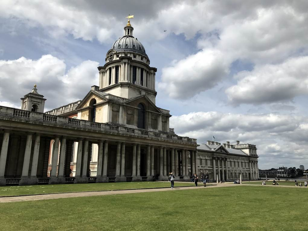Old Royal Naval College in London, England The Duchess Filming Location