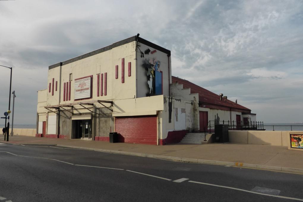 Regent Cinema in Redcar, North Yorkshire in England