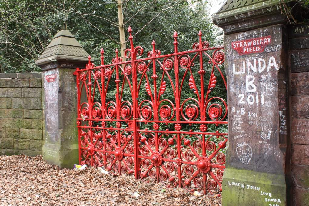Strawberry Field in Liverpool, England Yesterday Film Location