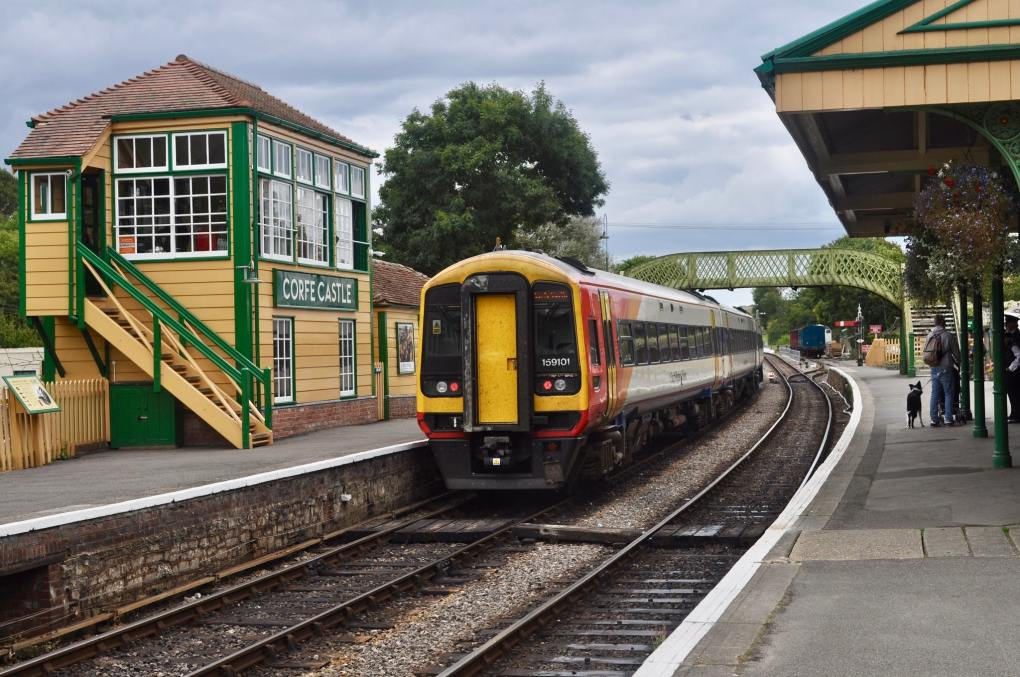 Swanage Railway Station in Dorset, England Dunkirk Filming Location