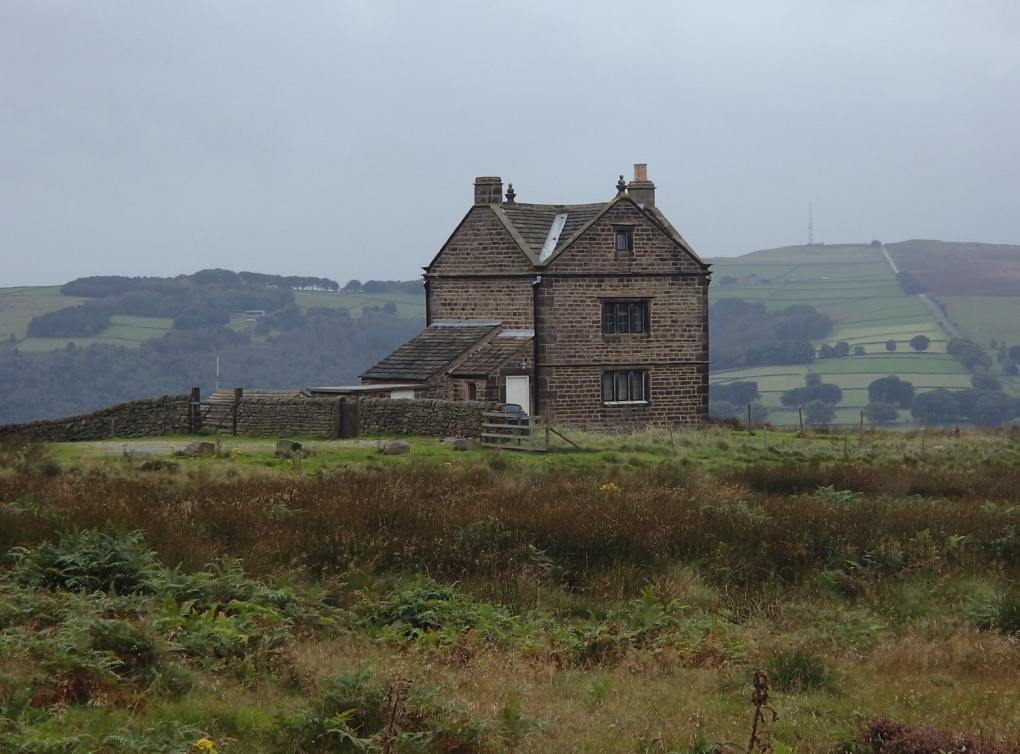 White Edge Lodge in Derbyshire, England Jane Eyre Filming Location