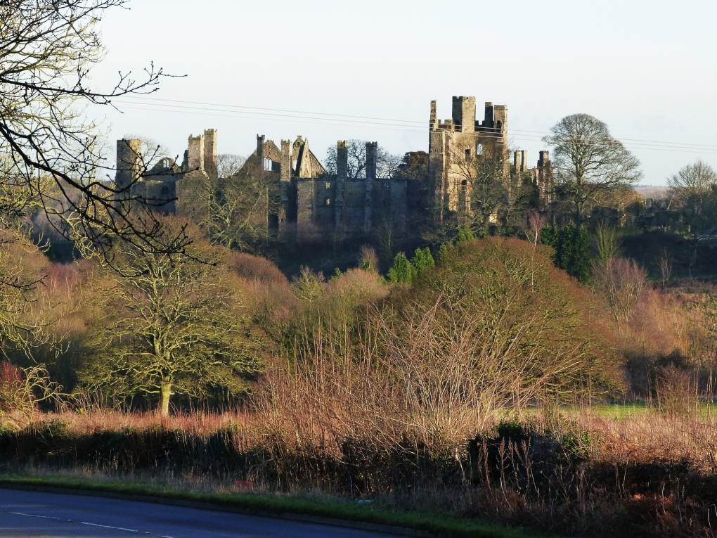 Wingfield Manor in Derbyshire, England Jane Eyre Filming Location