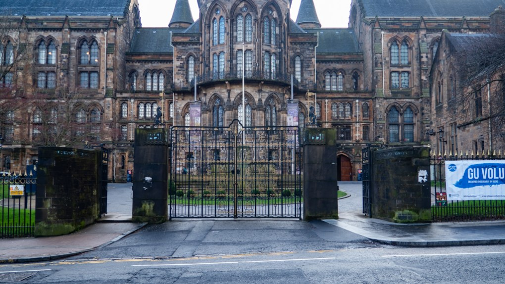 University of Glasgow in Glasgow, Scotland