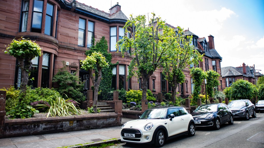 124 Dowanhill Street in Glasgow, Scotland Glasgow Outlander Location