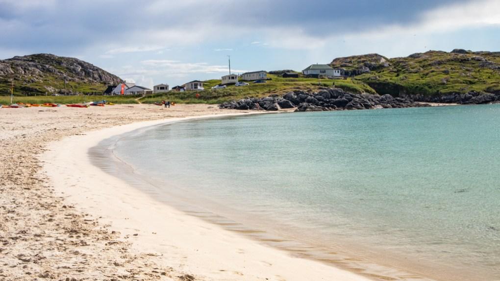 Achmelvich Bay in Scotland