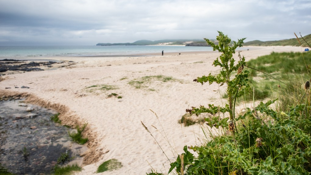 Balnakeil Beach on the North Coast 500 in Scotland