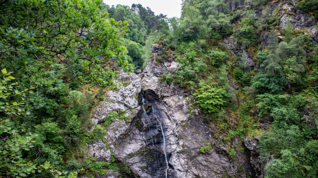Falls of Foyers near Loch Ness in Inverness, Scotland