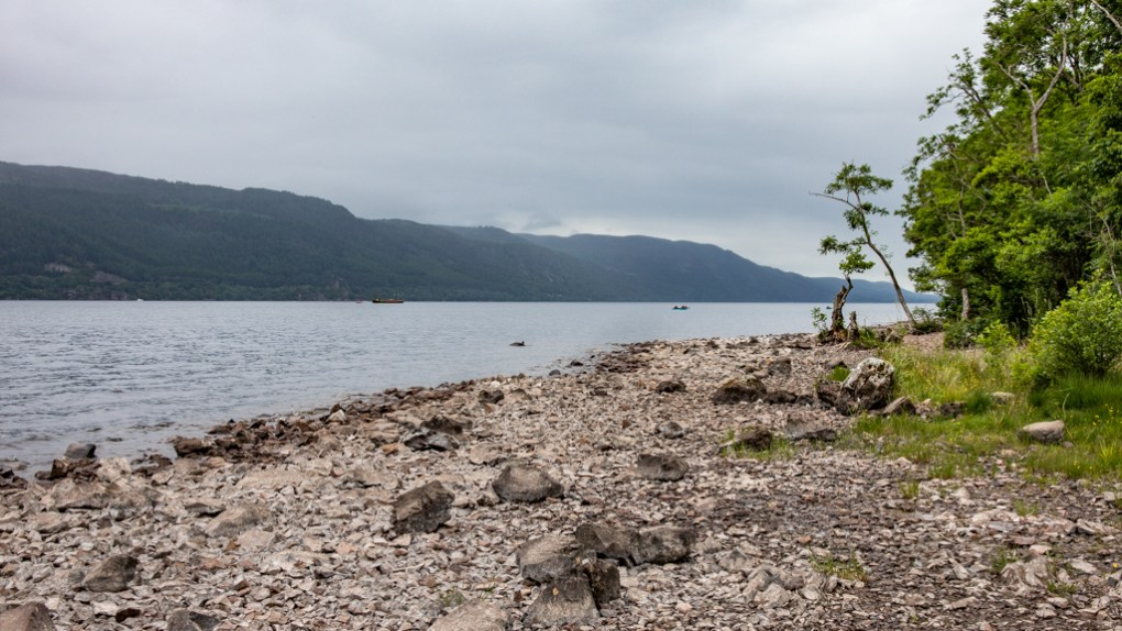 Loch Ness near Inverness in Scotland