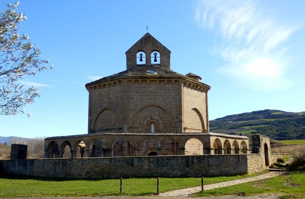 Iglesia de Santa Maria de Eunate in Spain