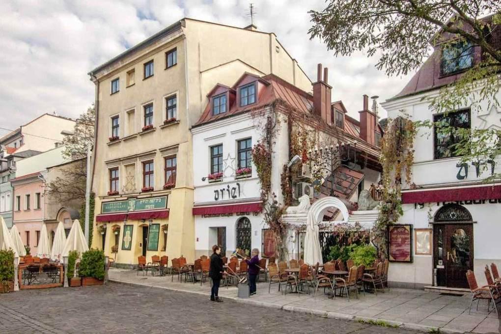 Szeroka in Kraków, Poland Schindler's List Location